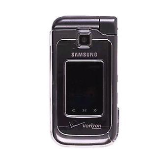 Hårda Snap-On fallet för Samsung SCH-u750 (Clear) (Bulk förpackning)