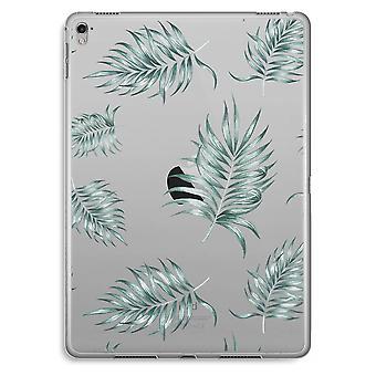 iPad Pro 9,7 inch Transparent Case (Soft) - Simple leaves
