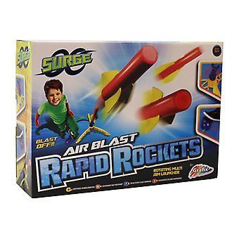 Surge Air Blast snelle raket met roterende Multi doel Launcher en Air Blast Pad