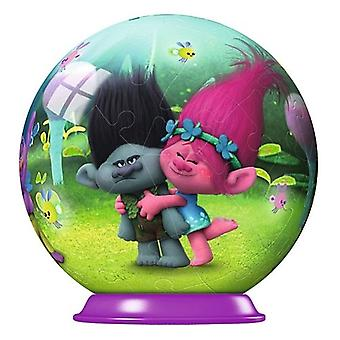 Disney Trolls Puzzleball Mini 54pc