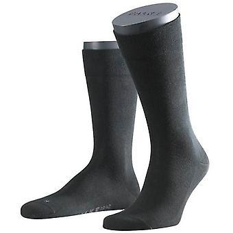 Falke Sensitive London Midcalf Socks - Black