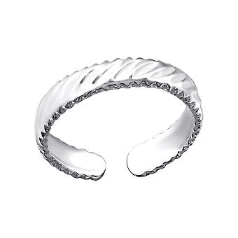 Strisce - 925 Sterling Silver Toe Ring - W23479X