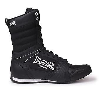 Lonsdale Womens Contender Ladies Boxing Boots Mid cut Lace Up Sport Shoes