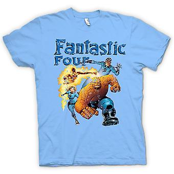 Camiseta para hombre - Fantastic Four - cómico Super héroe