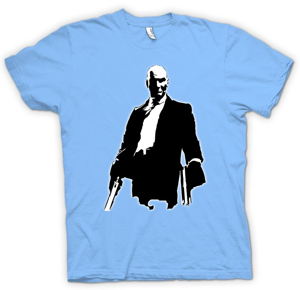 Mens t-shirt-Hitman - gioco - Cult