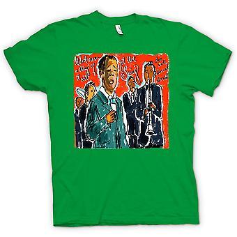 Kids T-shirt - Jazz Swing Poster