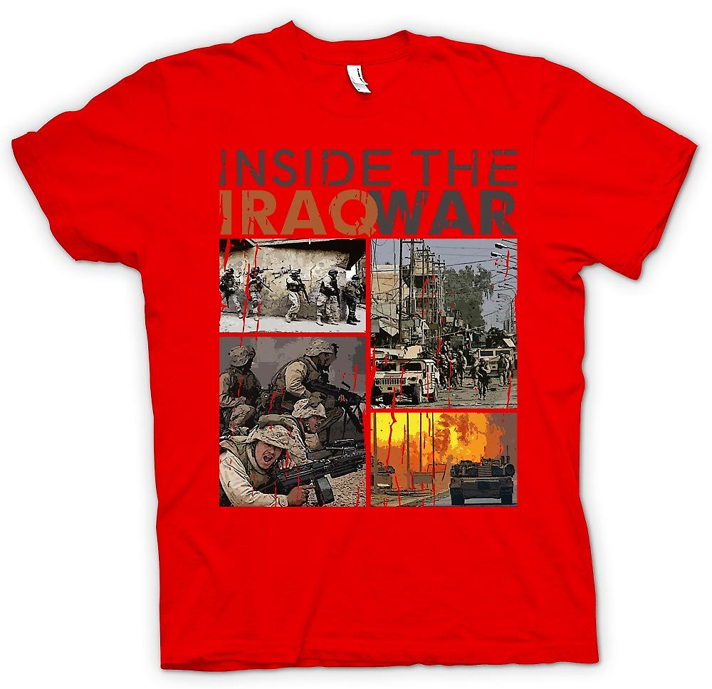 Mens t-shirt - dentro la guerra in Iraq - ispirazione militare