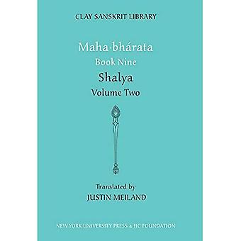 Maha bharata: BK de Shalya. 9, v. 2 (biblioteca de Sanskrit de la arcilla)