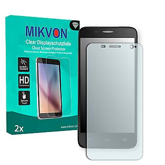 Alcatel One Touch Idol Mini 6012W Screen Protector - Mikvon Clear (Retail Package with accessories)
