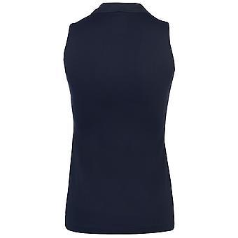 Colmar Womens Donna Sleeveless Polo Shirt Ladies