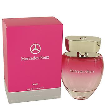 Mercedes Benz Rose by Mercedes Benz Eau De Toilette Spray 3 oz / 90 ml (Women)