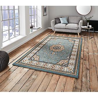 Heritage 4400 Blue  Rectangle Rugs Traditional Rugs