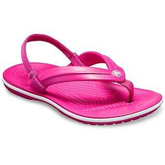 Crocs Girls Crocband lätt Comfy fotled Strap flipflops
