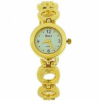 Boxx Ladies tour Link or Bracelet sangle Dress Watch F40057