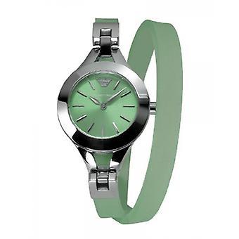 Emporio Armani Ar7345 Green Women's Watch