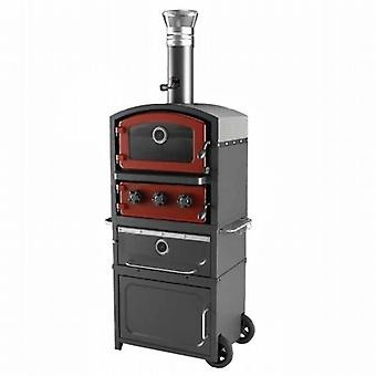 Fornetto Alto Wood Fired Oven And Smoker - Brick