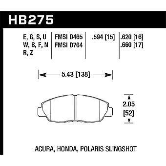 Hawk Performance HB275S. 594 HT-10