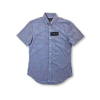 Ralph Lauren tretch lim fit hirt in blue/pink/white check