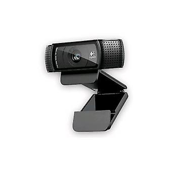 Logitech c920 web cam hd microfono incorported usb colore nero
