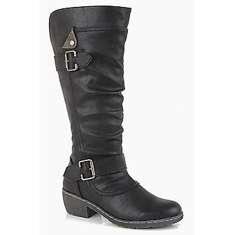 Cipriata Womens/Ladies Camelia Calf Cavalier Boots