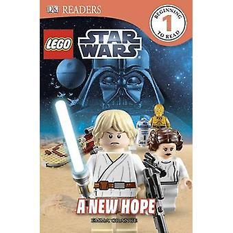 DK Readers L1 - Lego Star Wars - A New Hope by Emma Grange - 9781465420
