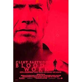 Blood Work (Double Sided Regular) Original Cinema Poster (Double Sided Regular) Original Cinema Poster (Double Sided Regular) Original Cinema Poster (Double Sided Regular)