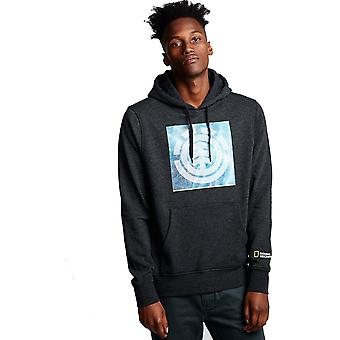 Element Solvent Icon Pullover Hoody in Charcoal Heather