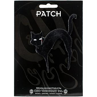 C&D Visionary Patch-Black Cat 3.125