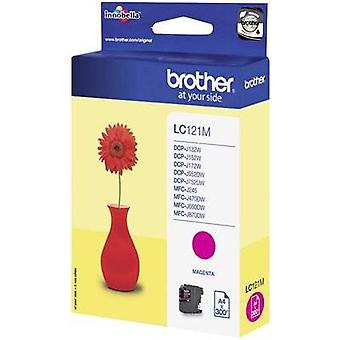Brother Ink LC - 121M opprinnelige Magenta LC121M
