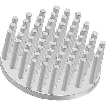 Heat sink (pins) 4.25 C/W (Ø x H) 28.5 mm x 18.5 mm Fischer Ele