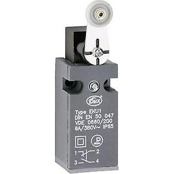 Limit switch 380 Vac 6 A Pivot lever momentary Schlegel EKU1-KRH IP65 1 pc(s)