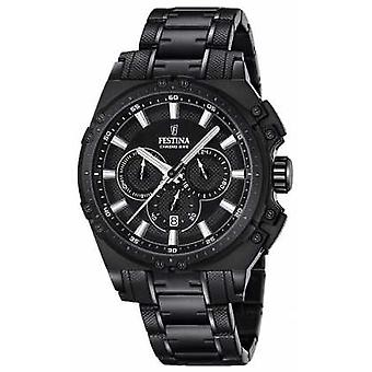 Festina 2016 Chronobike Mens Chronograph Black F16969/1 Watch