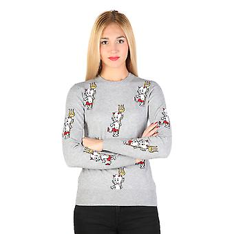 Love Moschino Pullovers Grey Women