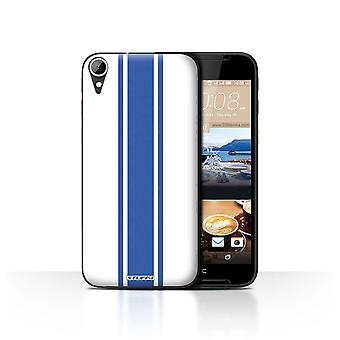 STUFF4 Case/Cover for HTC Desire 830/American Muscle/Racing Car Stripes