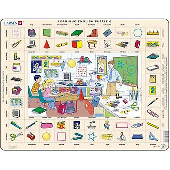 Larsen Learning Inglés Puzzle 6 (Toys , Boardgames , Puzzles)