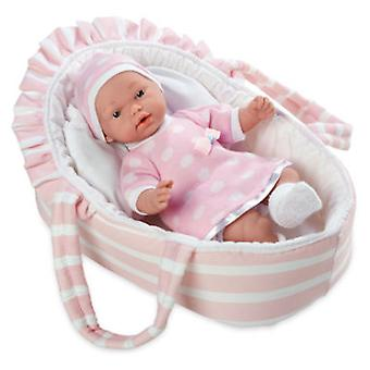 Arias Pink Hanne With Carrycot (Toys , Dolls And Accesories , Baby Dolls , Dolls)