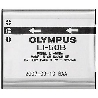 Camera battery Olympus replaces original battery LI-50B 3.7 V 925 mAh