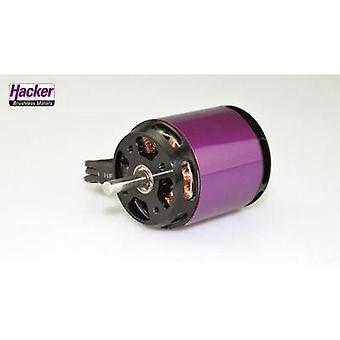Model aircraft brushless motor Hacker A40-8L V4 8-Pole kV (RPM per volt): 1300 Turns: 8