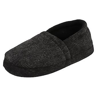 Boys Spot On Casual Slip On Slippers Flemish