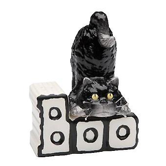Happy Halloween sort kat og Boo breve magnetiske Salt og peber Shaker sæt