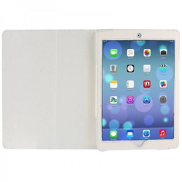 Cover art leather bag white for Apple iPad air
