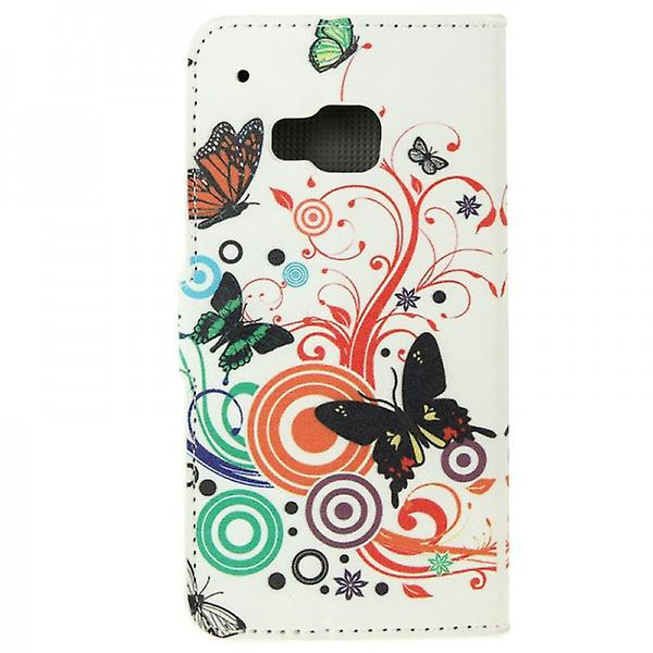 Cover wallet pattern 2 for HTC one 3 M9 2015