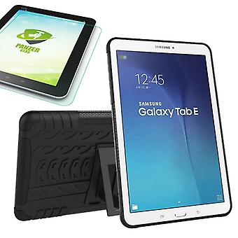 Hybrid outdoor case for Samsung Galaxy tab E 9.6 SM T560 + 0.4 armoured glass