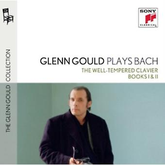 Glenn Gould Plays Bach: The Well-Tempered Clavier Books I & Ii Bwv 846-893