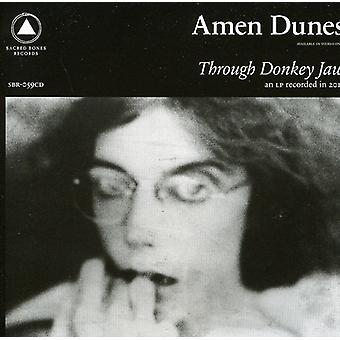 Amen klitter - gennem Donkey kæbe [CD] USA import