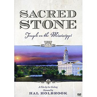 Hellige sten: Templet på Mississippi [DVD] USA importerer