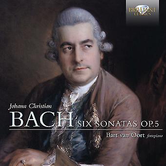 Bach - Johann Christian Bach: Six Sonatas [CD] USA import