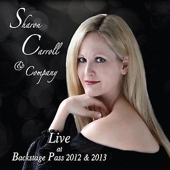 Sharon Carroll - Sharon Carroll & Company Backstage Pass Live [CD] USA import