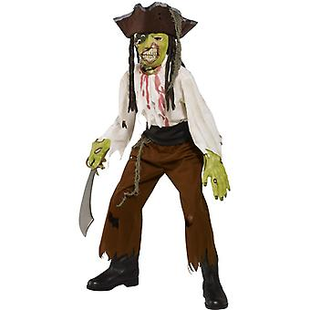 Zombie Pirate Costume child Halloween costume