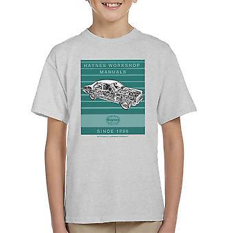Haynes Workshop manuell 0108 Vauxhall Victor FE Stripe Kids t-skjorte